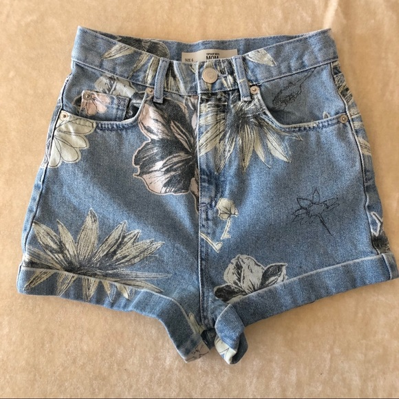 Topshop MOM  Jean shorts